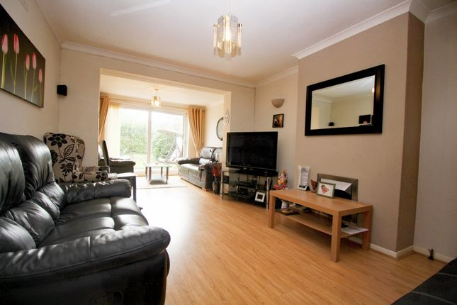 Thumbnail 3 bed semi-detached house for sale in Asquith Boulevard, Leicester