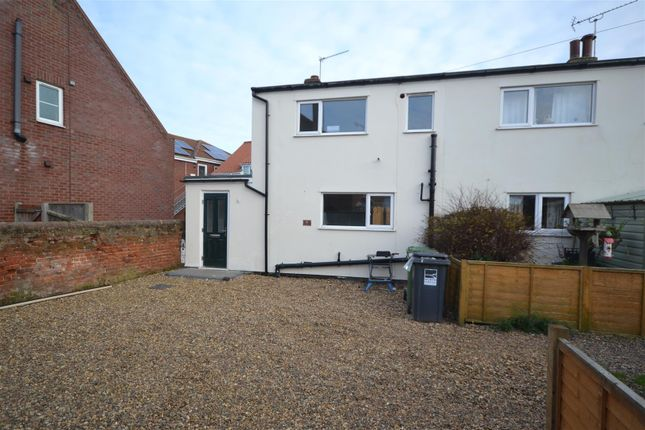 Thumbnail End terrace house for sale in Stalham, Norwich