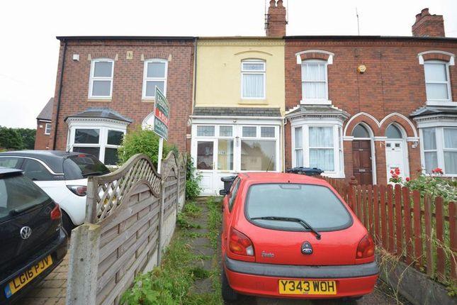 2 bed terraced house for sale in Moor Green Lane, Moseley, Birmingham