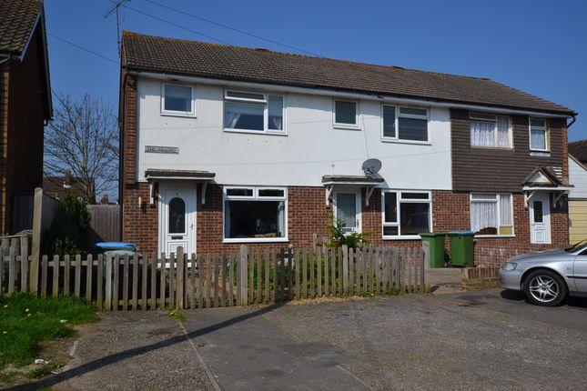 Thumbnail End terrace house to rent in Beaconsfield Road, Wick, Littlehampton