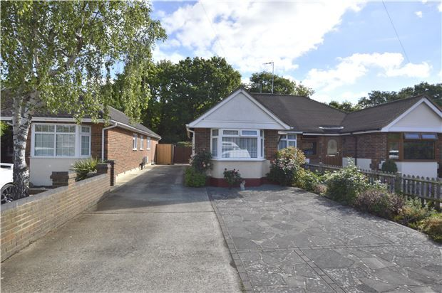 Thumbnail Semi-detached bungalow for sale in Castle Drive, Horley