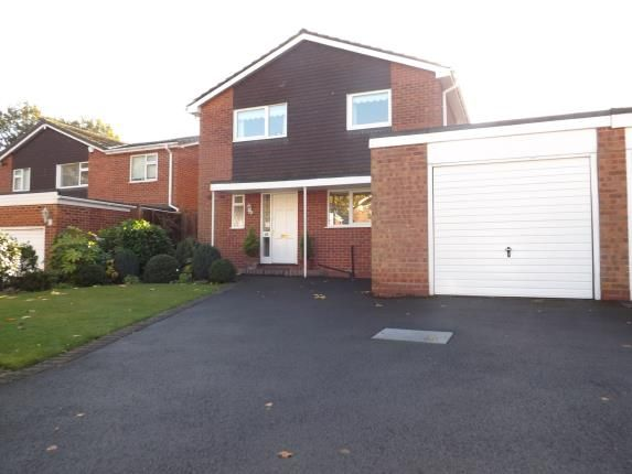 Thumbnail Detached house for sale in Aylesmore Close, Olton, Solihull, West Midlands