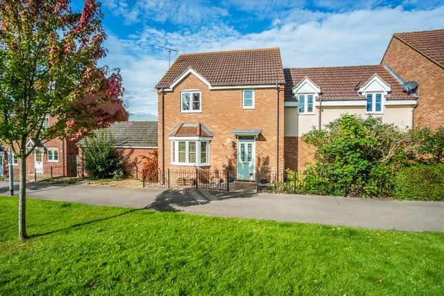 Thumbnail Link-detached house for sale in Coppertree Walk, Thrapston, Kettering
