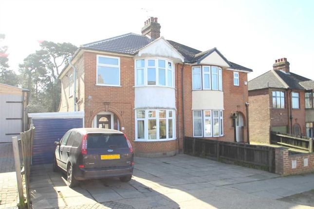 3 bed semi-detached house for sale in Pine View Road, Ipswich