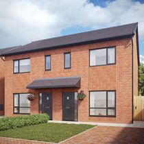 Thumbnail Semi-detached house for sale in The Hazelton, Viennese Road, Belle Vale, Liverpool