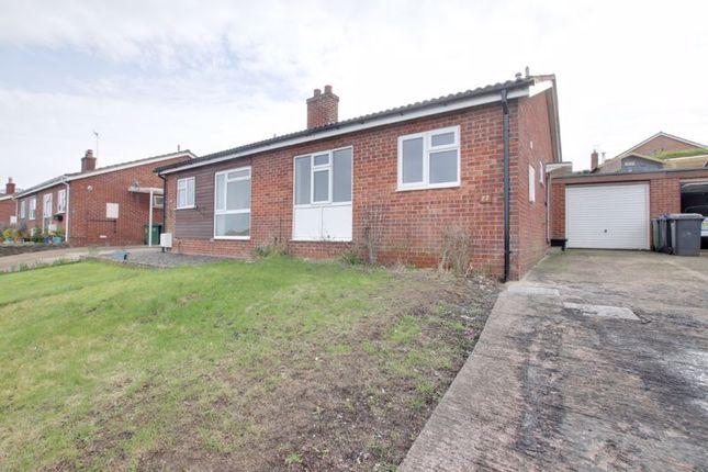 2 bed semi-detached bungalow to rent in Castle View, Westbury BA13