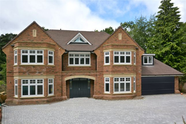 Thumbnail Detached house for sale in Ardwell Close, Crowthorne, Berkshire