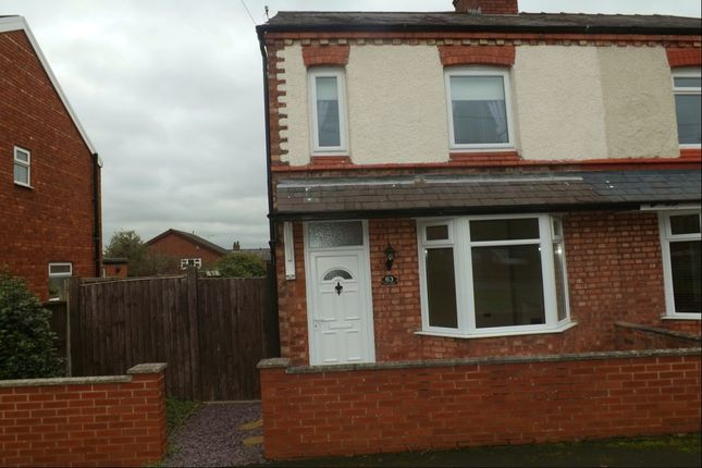 2 bed semi-detached house to rent in Well Street, Winsford