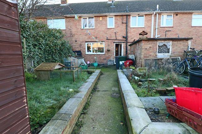 Garden At Back of Whitelands, Cotgrave, Nottingham NG12