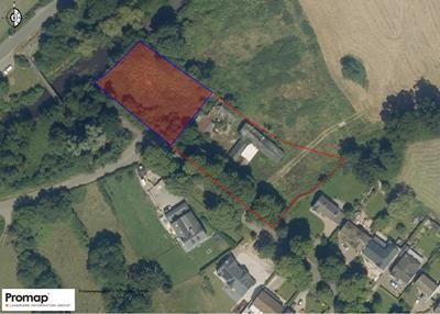 Thumbnail Land for sale in Former Farm Buildings, Pwll-Y-Myn Farm, Main Avenue, Peterston-Super-Ely, Vale Of Glamorgan