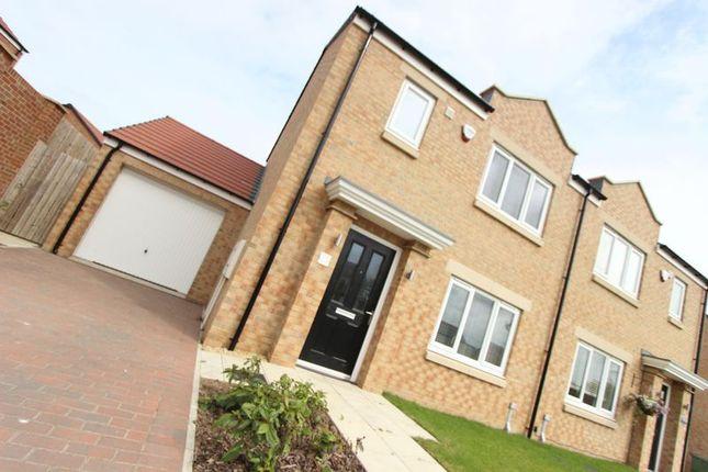 Thumbnail Semi-detached house for sale in Brookdale, Thurcroft, Sunderland