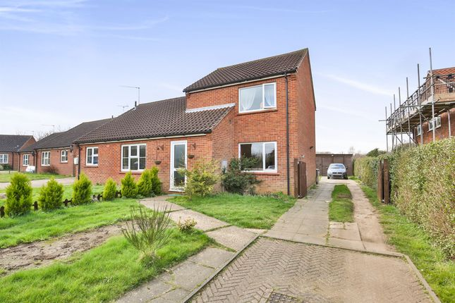 Thumbnail Semi-detached house for sale in Orchard Close, North Elmham, Dereham