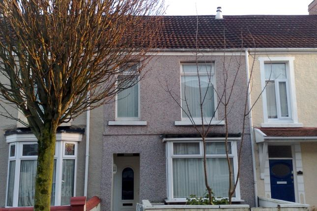 Thumbnail Terraced house to rent in St Helens Avenue, Brynmill