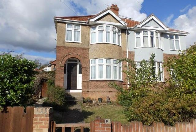 Thumbnail Semi-detached house for sale in Castle Road, Ipswich