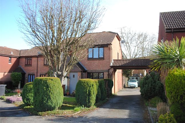 Thumbnail End terrace house for sale in Larchwood, Bishop's Stortford, Hertfordshire