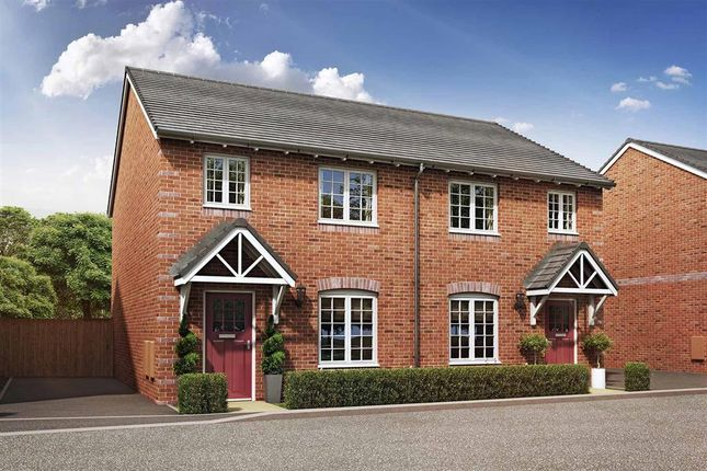 """Thumbnail Semi-detached house for sale in """"The Beauford - Plot 213"""" at Daventry Road, Southam"""