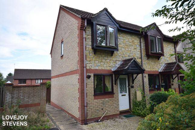 Thumbnail Semi-detached house to rent in Saffron Meadow, Calne