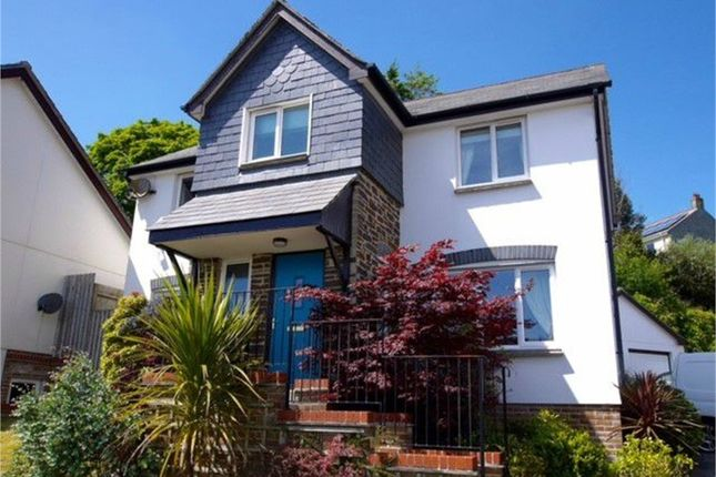 Thumbnail Detached house for sale in Chynoon Gardens, St Austell, Cornwall
