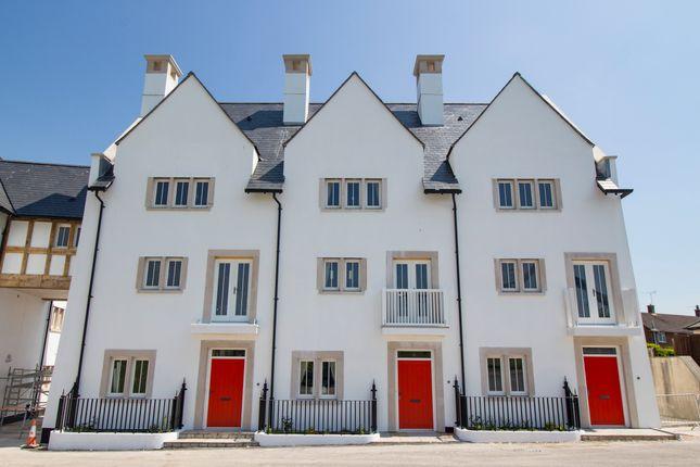 Thumbnail Town house for sale in St John Way, Poundbury