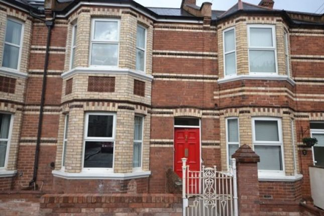 Thumbnail Terraced house to rent in Regents Park, Exeter
