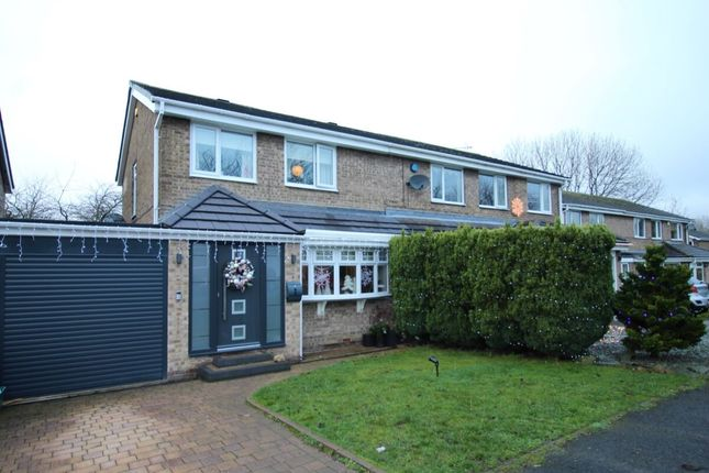 Thumbnail Semi-detached house for sale in Wensley Close, Ouston, Chester Le Street