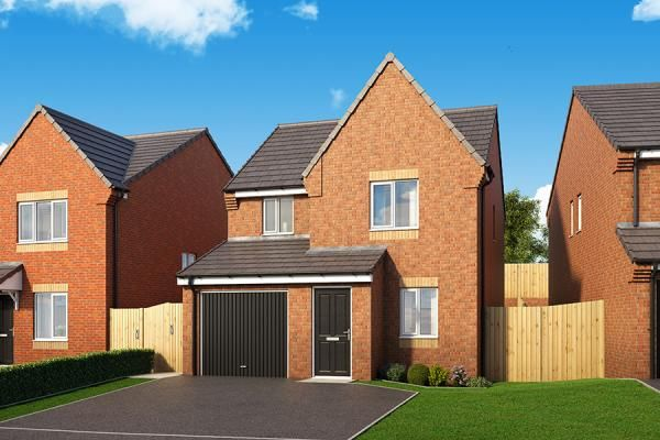 "Thumbnail Property for sale in ""The Redwood At Coppice Heights"" at Palmer Road, Dipton, Stanley"