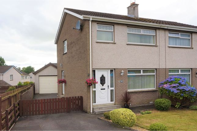 Semi-detached house for sale in Knockeen Road, Ballymena