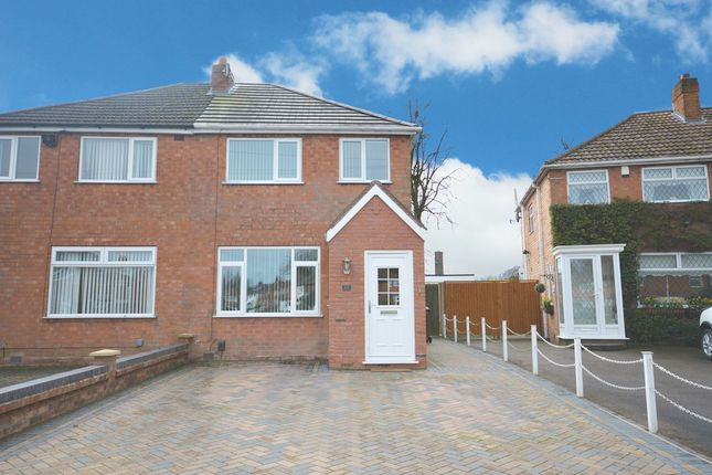 Thumbnail Semi-detached house for sale in Chamberlain Crescent, Shirley, Solihull