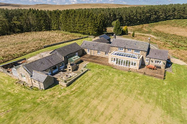 Thumbnail Farmhouse for sale in West High Ridge, Wark, Hexham, Northumberland
