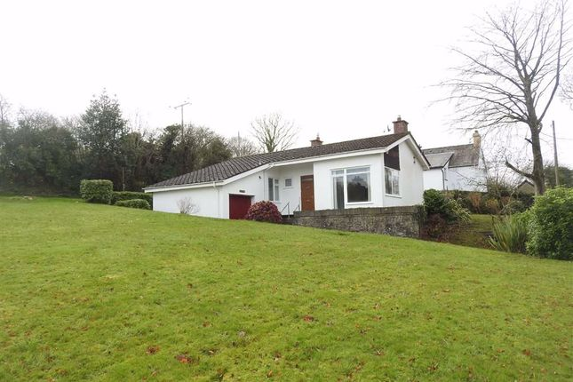 Thumbnail Detached bungalow for sale in Pontgarreg, Llandysul