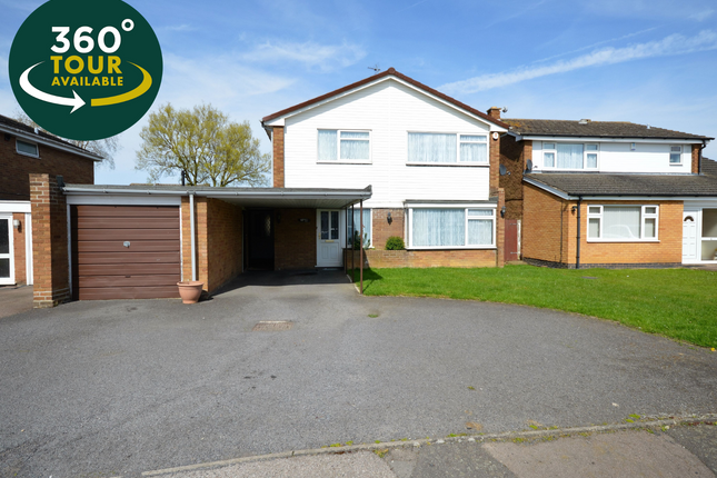 Thumbnail Detached house for sale in Ribble Avenue, Oadby, Leicester