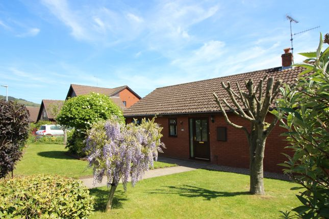 Thumbnail Detached bungalow for sale in Greystones Avenue, Mardy, Abergavenny