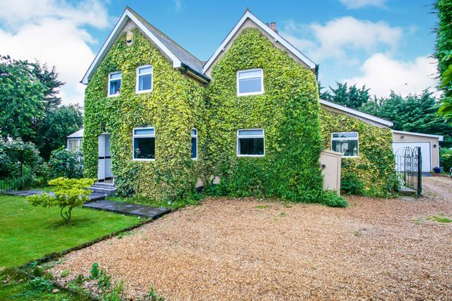 3 bed detached house for sale in Twenty Foot Road, Chain Bridge, March PE15