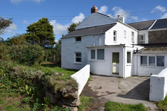 Front Approach of Druids Lodge, Druids Road, Illogan Highway, Redruth TR15