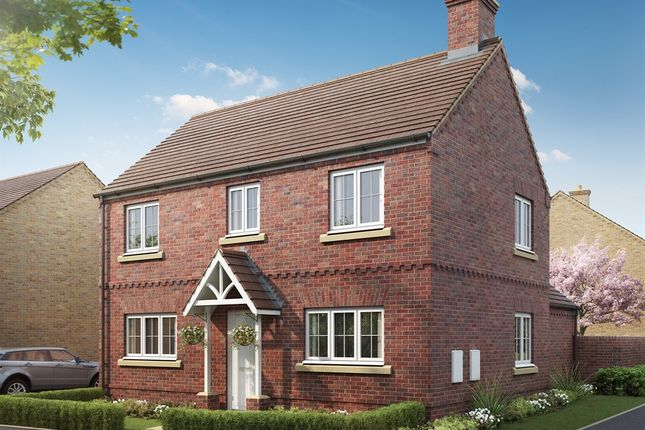 "Thumbnail Detached house for sale in ""The Hartwell"" at Mentmore Road, Cheddington, Leighton Buzzard"
