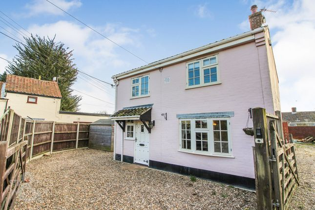 Thumbnail Cottage for sale in Post Office Road, Lingwood, Norwich