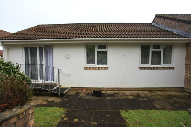 Thumbnail Terraced bungalow for sale in Robert Eliot Court, Trevarrick Road, St Austell, Cornwall