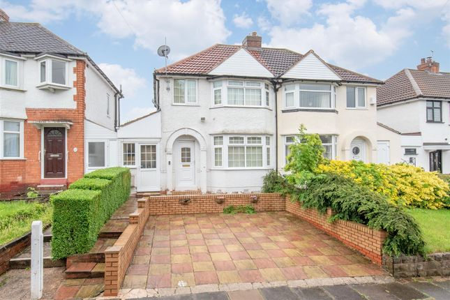 Thumbnail Semi-detached house for sale in Steyning Road, South Yardley, Birmingham