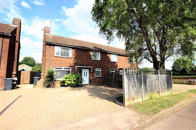 Thumbnail Semi-detached house to rent in Lincoln Road, Shortstown, Bedford, Bedfordshire