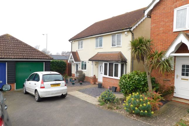 Thumbnail Semi-detached house for sale in Kingfisher Way, Stowmarket
