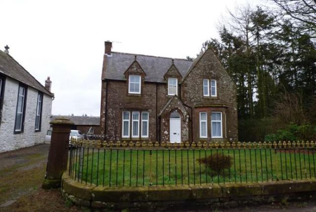 Thumbnail Detached house to rent in Hightae & Dalton Manse, Hightae Lockerbie