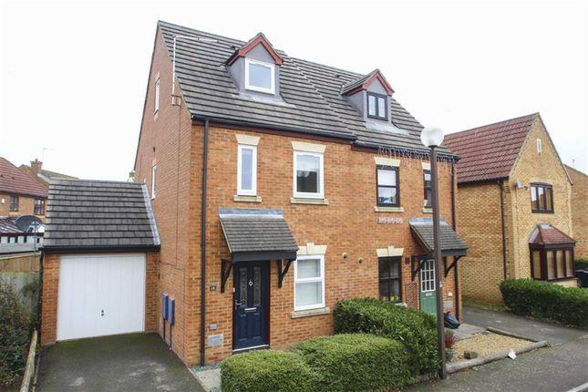 Thumbnail Semi-detached house to rent in Abbeydore Grove, Monkston, Milton Keynes