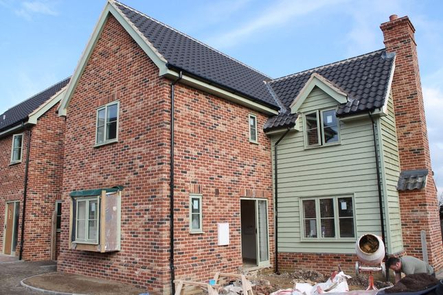 Thumbnail Detached house for sale in Pulham St Mary, Diss