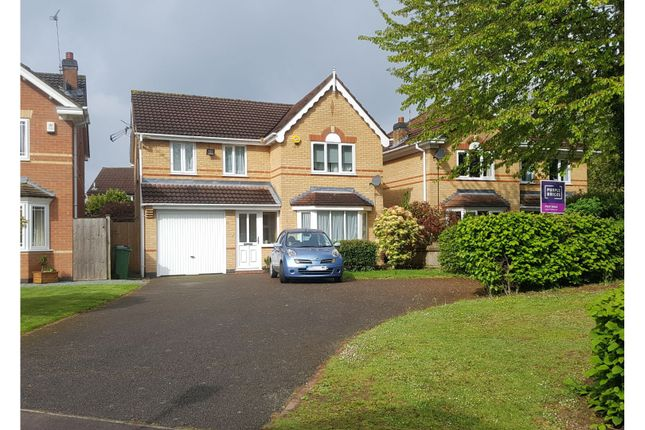 Thumbnail Detached house for sale in Petunia Close, Leicester