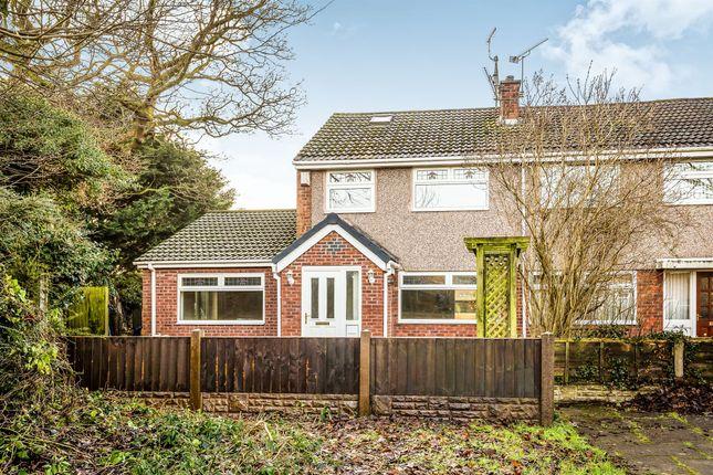 Thumbnail End terrace house for sale in Tudor Green, Blacon, Chester