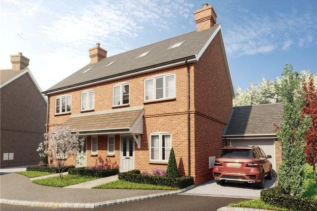 Thumbnail Semi-detached house for sale in Dunleys Hill, Odiham, Hook