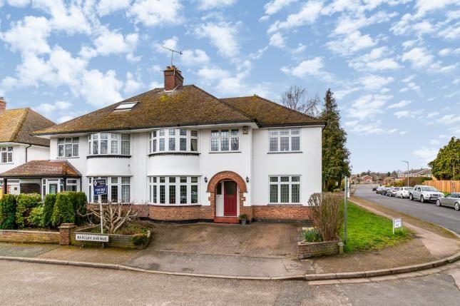 Thumbnail Semi-detached house for sale in Barclay Avenue, Tonbridge, Kent, .