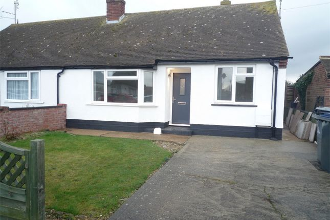 2 bed semi-detached bungalow to rent in Blean View Road, Herne Bay, Kent