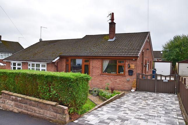 Thumbnail Semi-detached bungalow for sale in Marsh View, Meir Heath, Stoke-On-Trent
