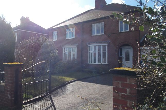 Thumbnail Semi-detached house to rent in Doncaster Road, Carlton In Lindrick, Worksop, Notts